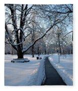Queen's Park Pathway Fleece Blanket