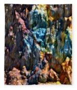 Queenstown-dm Fleece Blanket