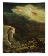 Quest For The Holy Grail Fleece Blanket