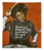 Questlove Fleece Blanket