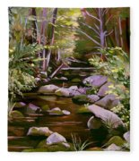 Quiet Brook Fleece Blanket