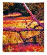 Quiet Meadow Fleece Blanket