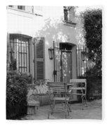 Quiet Moment  At Saint -  Tropez Fleece Blanket
