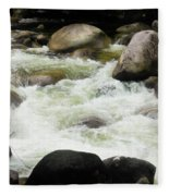 Quiet - Mossman Gorge, Far North Queensland, Australia Fleece Blanket
