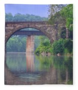 Quiet River Fleece Blanket