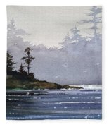 Quiet Shore Fleece Blanket