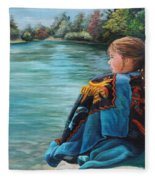 Quiet Time Fleece Blanket