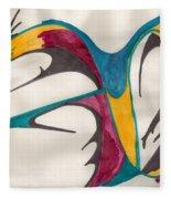 Quills Fleece Blanket