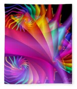 Quite In Different Colors -1- Fleece Blanket