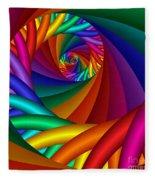 Quite In Different Colors -6- Fleece Blanket