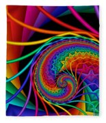 Quite In Different Colors -9- Fleece Blanket