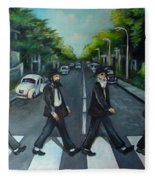 Rabbi Road Fleece Blanket