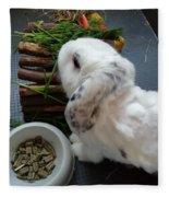 Rabbit Fleece Blanket