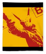 Rabbit Heist Fleece Blanket