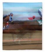 Racetrack Dreams 2 Fleece Blanket