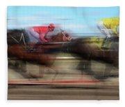 Racetrack Dreams  Fleece Blanket
