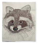 Racoon Fleece Blanket
