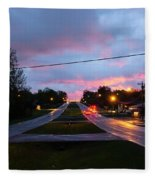 Radcliff Kentucky Morning Fleece Blanket