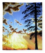 Radiant Reflection Fleece Blanket