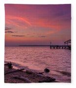 Radiant Sky Fleece Blanket