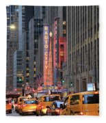 Radio City Music Hall New York Fleece Blanket