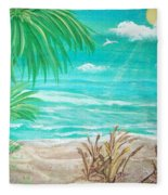 Raelee's Beach Fleece Blanket
