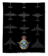 Raf100 - The Bombers Fleece Blanket