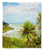 Raglan Coastline Fleece Blanket