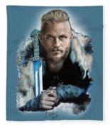 Ragnar Lothbrok Fleece Blanket