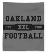 Raiders Retro Shirt Fleece Blanket