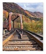Rail Bridge Fleece Blanket