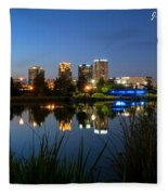 Railraod Park Bham, Al Fleece Blanket