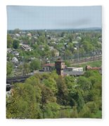 Railroad Fleece Blanket