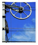 Railway Catenary Fleece Blanket