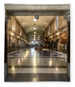 Railway Hall Fleece Blanket