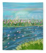 Rain And Shine Fleece Blanket