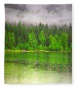 Rain Clouds Fleece Blanket