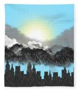 Rain On A Sunny Day Fleece Blanket