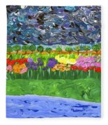Rain Or Shine Fleece Blanket