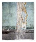 Rain Ruined Wall Fleece Blanket
