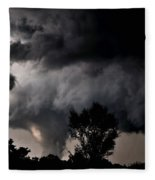 Rain Shaft 01 Fleece Blanket