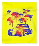Rain Showers Fleece Blanket