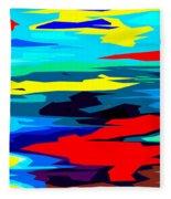 Rainbow 4 Fleece Blanket