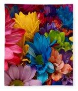 Rainbow Bouquet Fleece Blanket