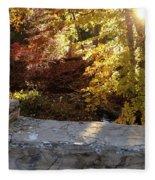 Rainbow Brook  Fleece Blanket