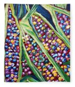 Rainbow Corn Fleece Blanket