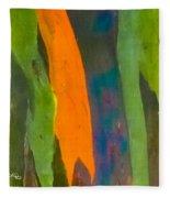 Rainbow Eucalyptus 5 Fleece Blanket