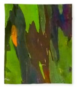 Rainbow Eucalyptus 6 Fleece Blanket