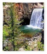 Rainbow Falls 1 Fleece Blanket