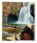 Rainbow Falls 2 Fleece Blanket